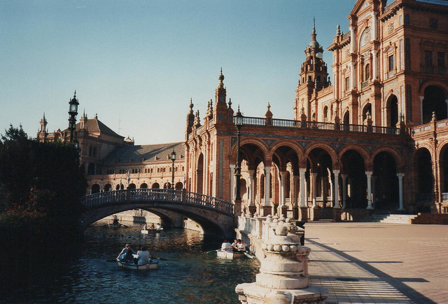 1997 Spain // Wandern in Andalusien // Sevilla