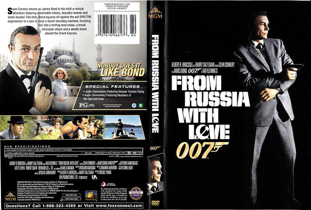 jb02 from russia with love dvd covers by ludie
