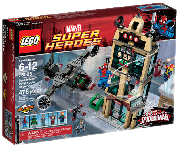LEGO Marvel Super Heroes 76005 Spider-Man Daily Bugle Showdown