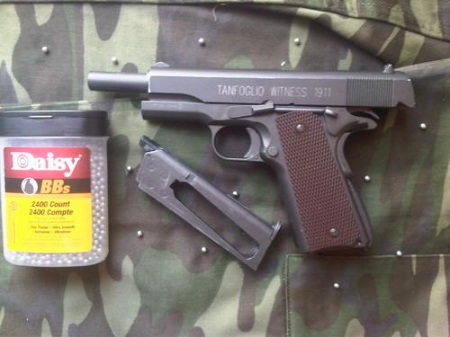 Satilmiştir satılık tanfoglio witness 1911 blowback co2 tabanca