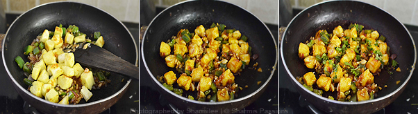 How to make chilli paneer - Step4