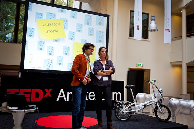 TEDxAmsterdam Award workshops earlier October 2012
