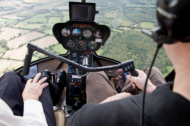 Helicopter Flying Lesson - I have control