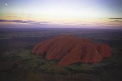 [フリー画像素材] 自然風景, 岩山, ウルル・エアーズロック, 風景 - オーストラリア, 世界遺産 ID:201210222000