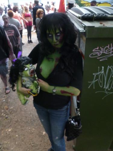 Rhonda & Baby Zombie