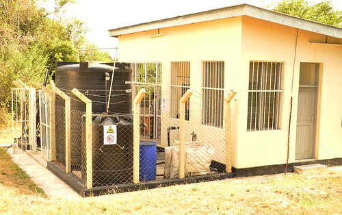 The pilot biogas plant at University of Dar es Salaam