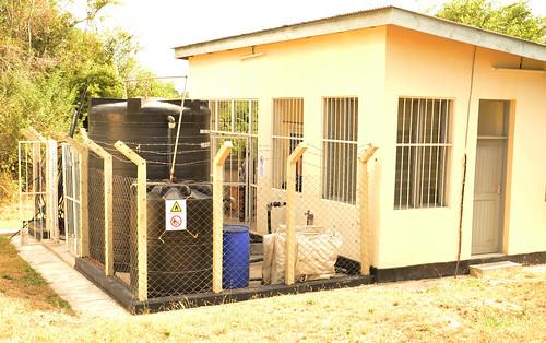 The pilot biogas plant at University of Dar es Salaam
