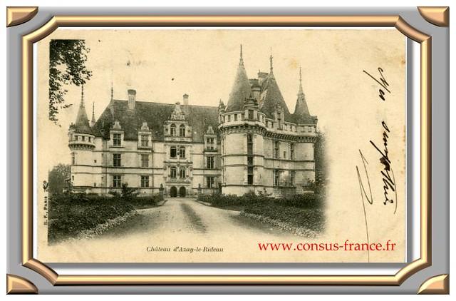 Azay-le-Rideau- Le Château-70-150