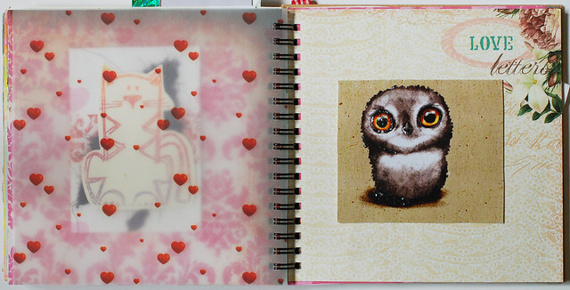 Smart Journal #1 Vellum & owl love