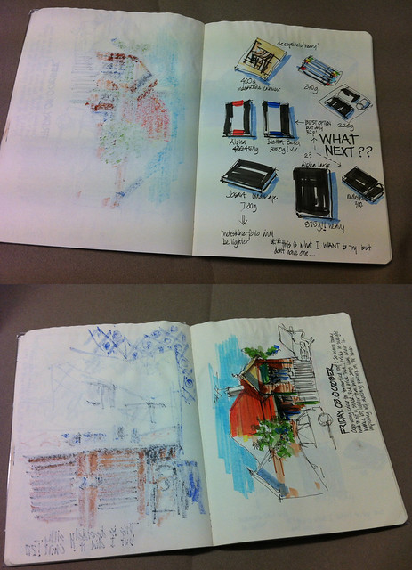 121016 Sketchbook vs Journal Book 1