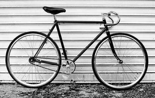 My new single speed city bicycle