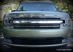 automobile, automotive exterior, vehicle, grille, ford flex, bumper, land vehicle, luxury vehicle,