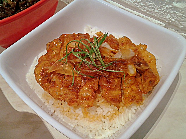 Bonchon crunchy Chicken Bulgogi rice