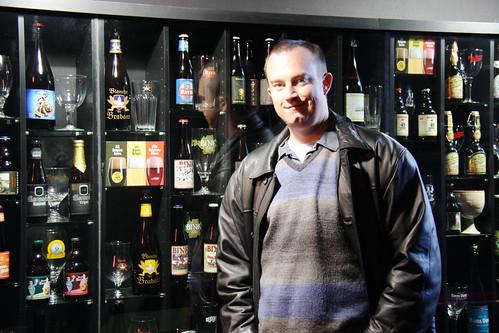 Erik in Beer Shop