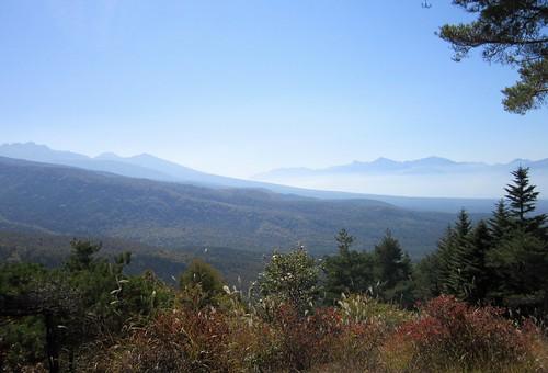八ヶ岳連峰と南アルプス 2012年10月16日10:51 by Poran111