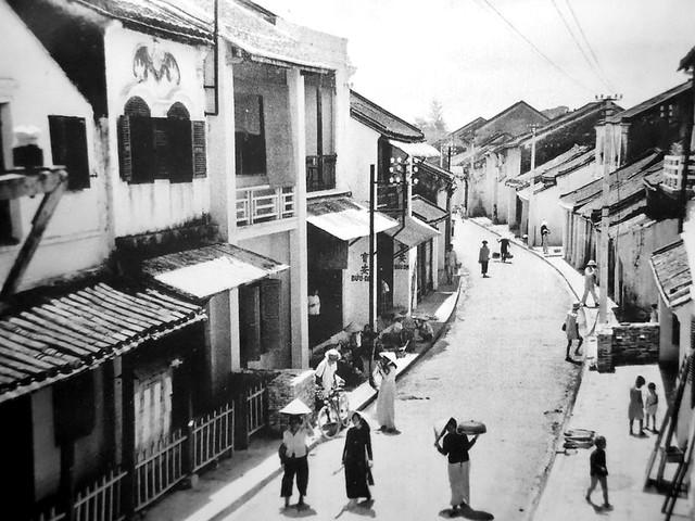 Hội An 1950s - Rue du Pont Japonais