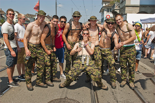The army of Love, Zurich Street Parade 2012. No. 5312. by Izakigur