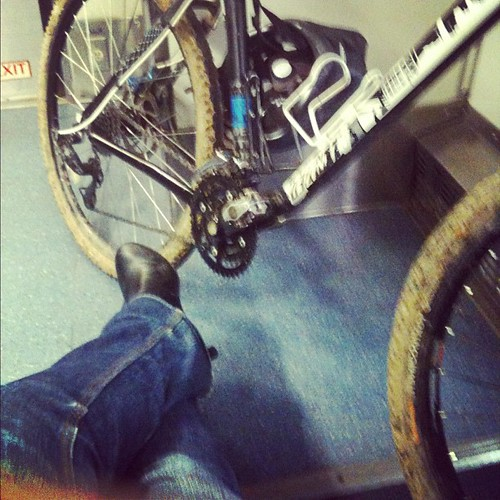 Plenty of leg room. #Amtrak #bike #KatyTrail