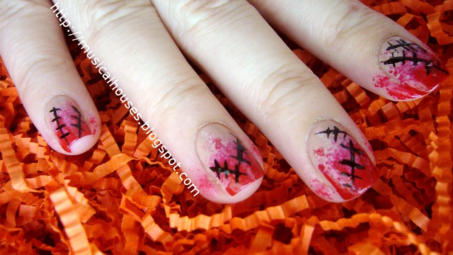 halloween nails scary nail art 3