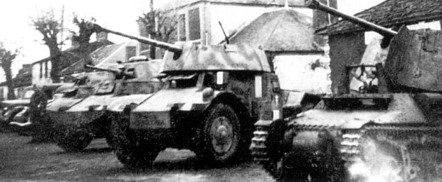 German 50 Mm Anti Tank Gun: Panzerspahwagen P. 204(f) (Captured Panhard 178)