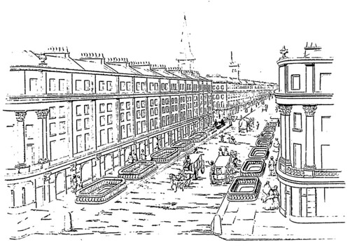 Plans for the City Terminus Railway