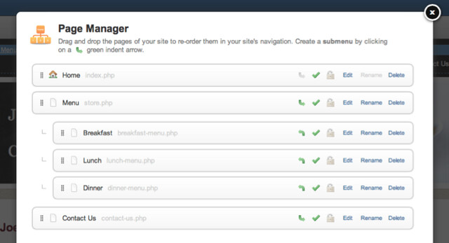 Page Manager