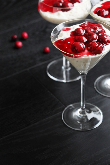Risalamande / Danish rice pudding with cherry sauce / Taani riisipuder sooja kirsikastmega