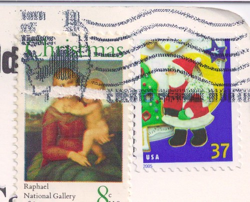 USA Christmas Stamps
