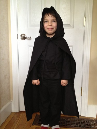 Luke Skywalker, Jedi costume