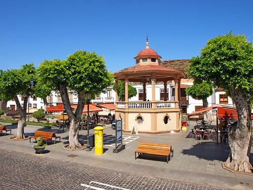 Plaza, Los Silos, Tenerife