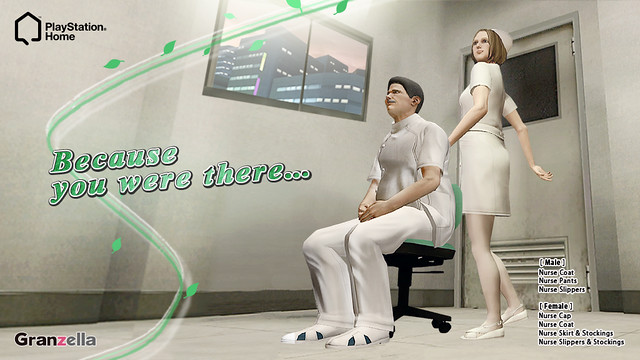 PlayStation Home: Nurse