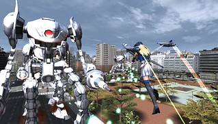 Earth Defense Force 2017 Portable for PS Vita - Aerial Attack