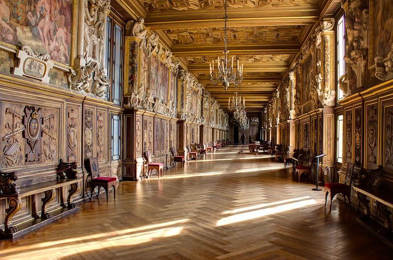 Chateau de Fontainebleau Galería François Ier