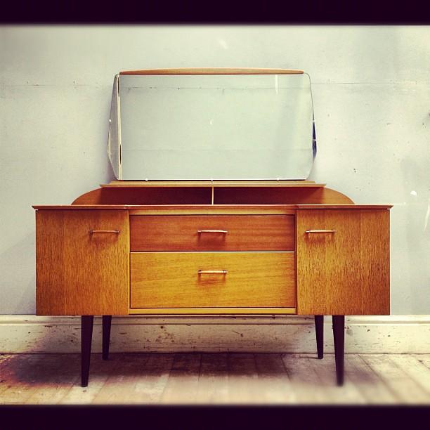 Mid century modern vintage retro go go go dressing table english
