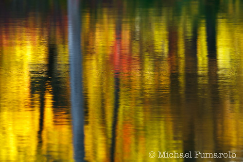 Autumn Reflections on Sterling Pond - 01