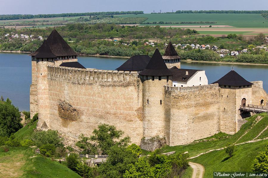 Замки и крепости Украины: Хотинская крепость
