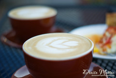 Vanilla Latte Art
