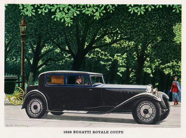 1928 Bugatti Royale Coupe