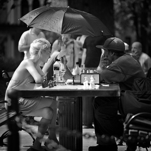 NYC > Washington Square Park: chess