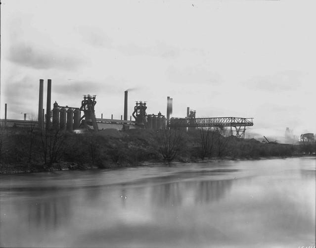 Carnegie Steel Company Farrell Blast Furnaces c  1925Carnegie Steel Company