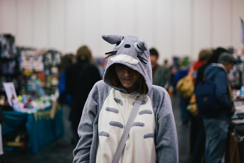 Creepy Totoro.