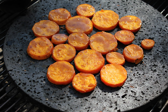 Brown Sugar Glazed Sweet Potato Slices on the Grill! | Flickr - Photo ...