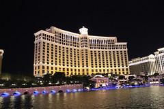 Bellagio Casino at Night, Las Vegas