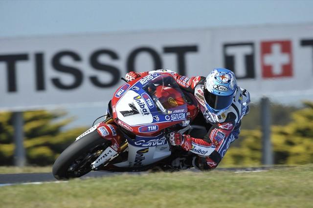 Carlos Checa Ducati SBK