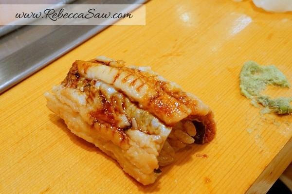 Tsukiji market - sushi dai - best sushi-052