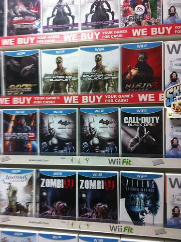 Blacklist Wii U