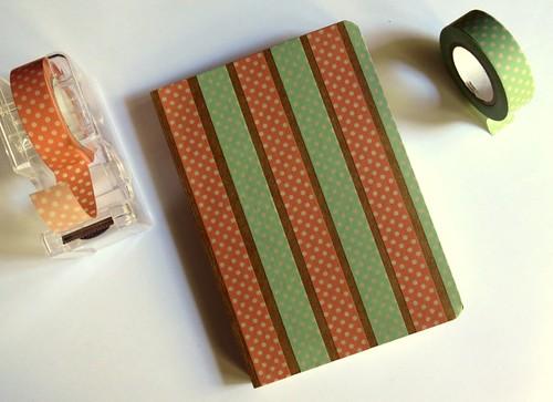 libreta y washi tape