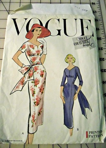 Vogue Couturier pattern
