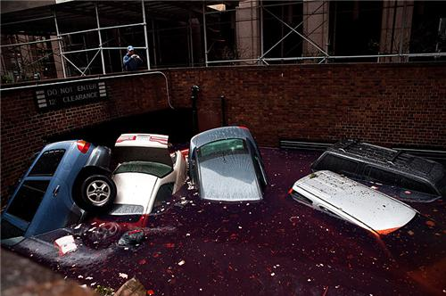 floating-cars-flooded-garage-nyc-Hurricane-Sandy