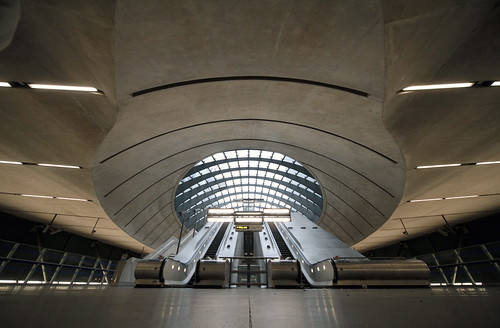 Canary Wharf Underground Station - East Entrance